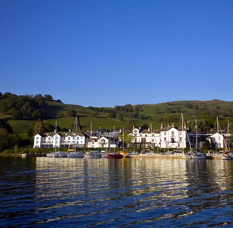 Low Wood Bay from Lake Windermere