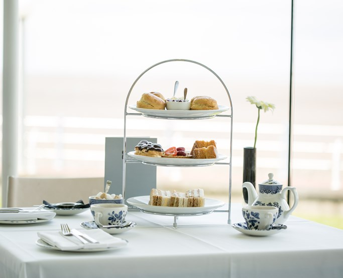 Afternoon Tea at The Midland, Morecambe