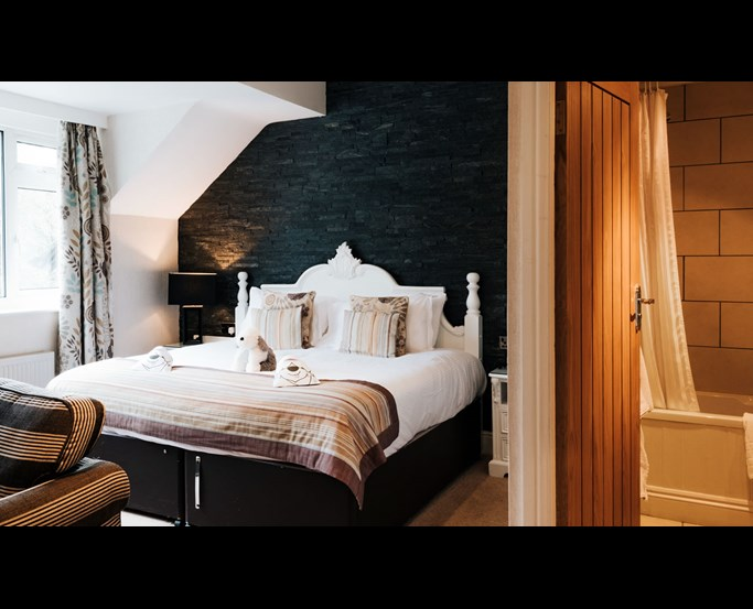Feature Bedroom at The Wild Boar Inn | English Lakes Hotels
