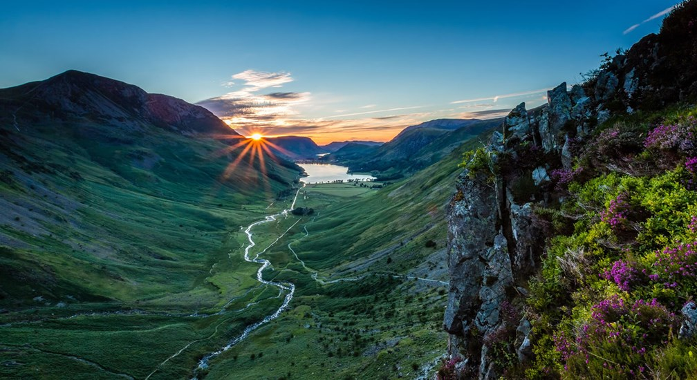 Sunset over Buttermere