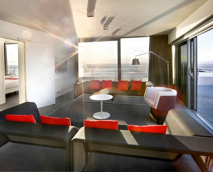 Luxury Sea View Room Lounge