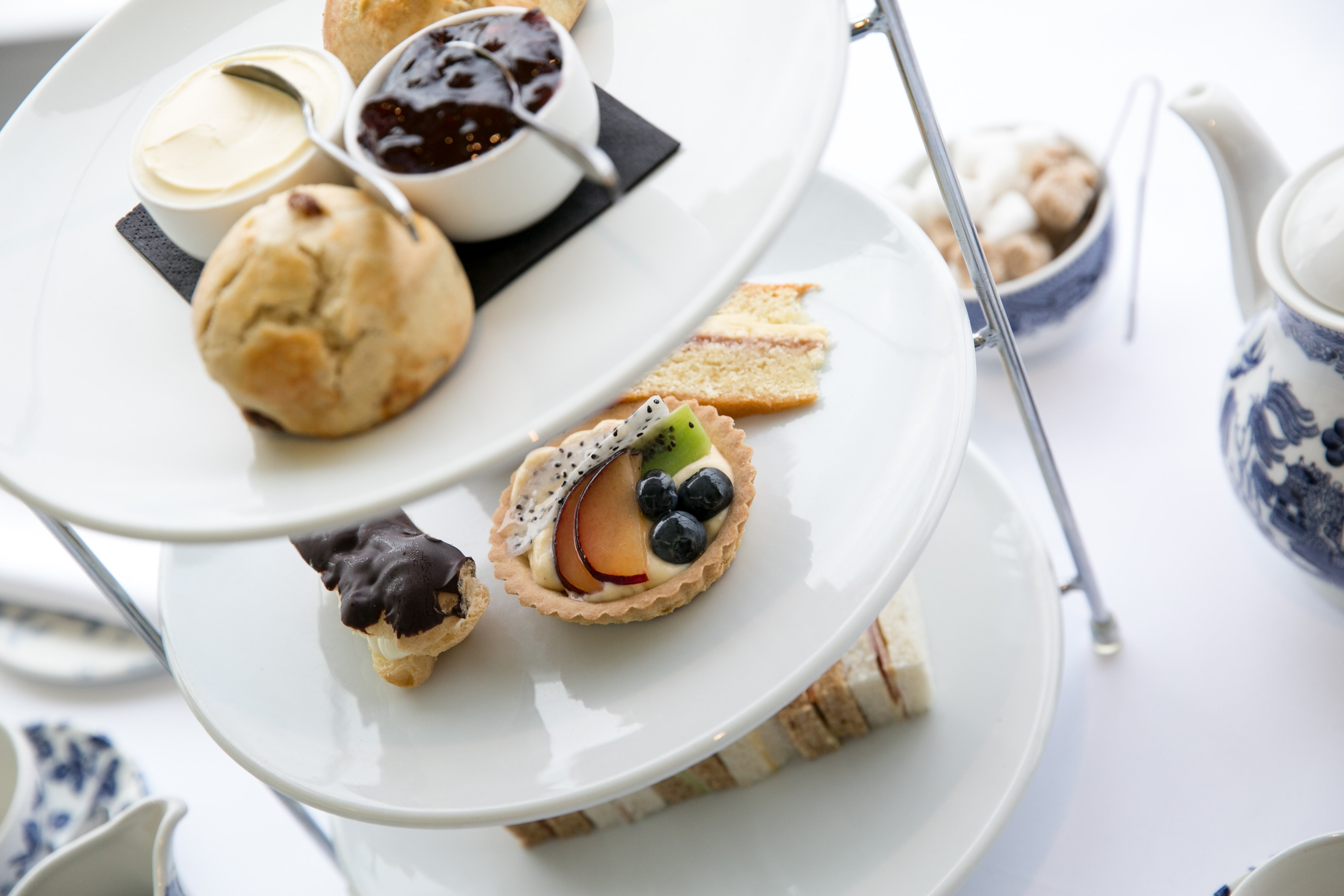 Afternoon Tea at the Midland Hotel, Morecambe