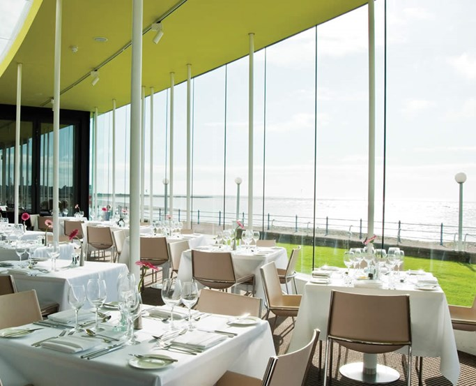 The Sun Terrace Restaurant at the Midland Hotel, Morcambe
