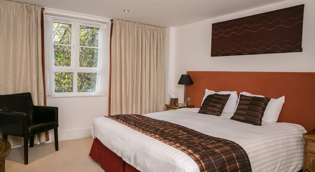 A House bedroom at the Waterhead hotel, Ambleside