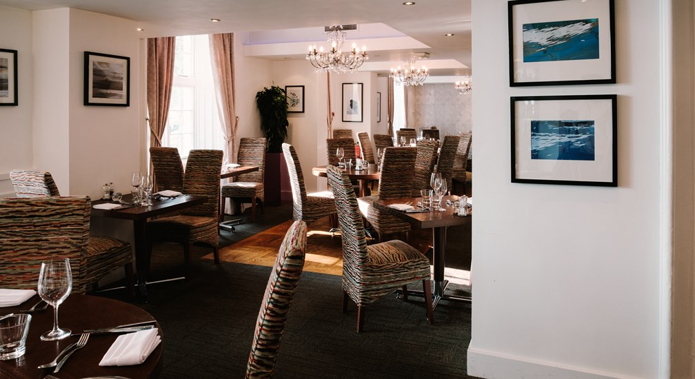 The award winning Bar & Grill restaurant at Waterhead, Ambleside