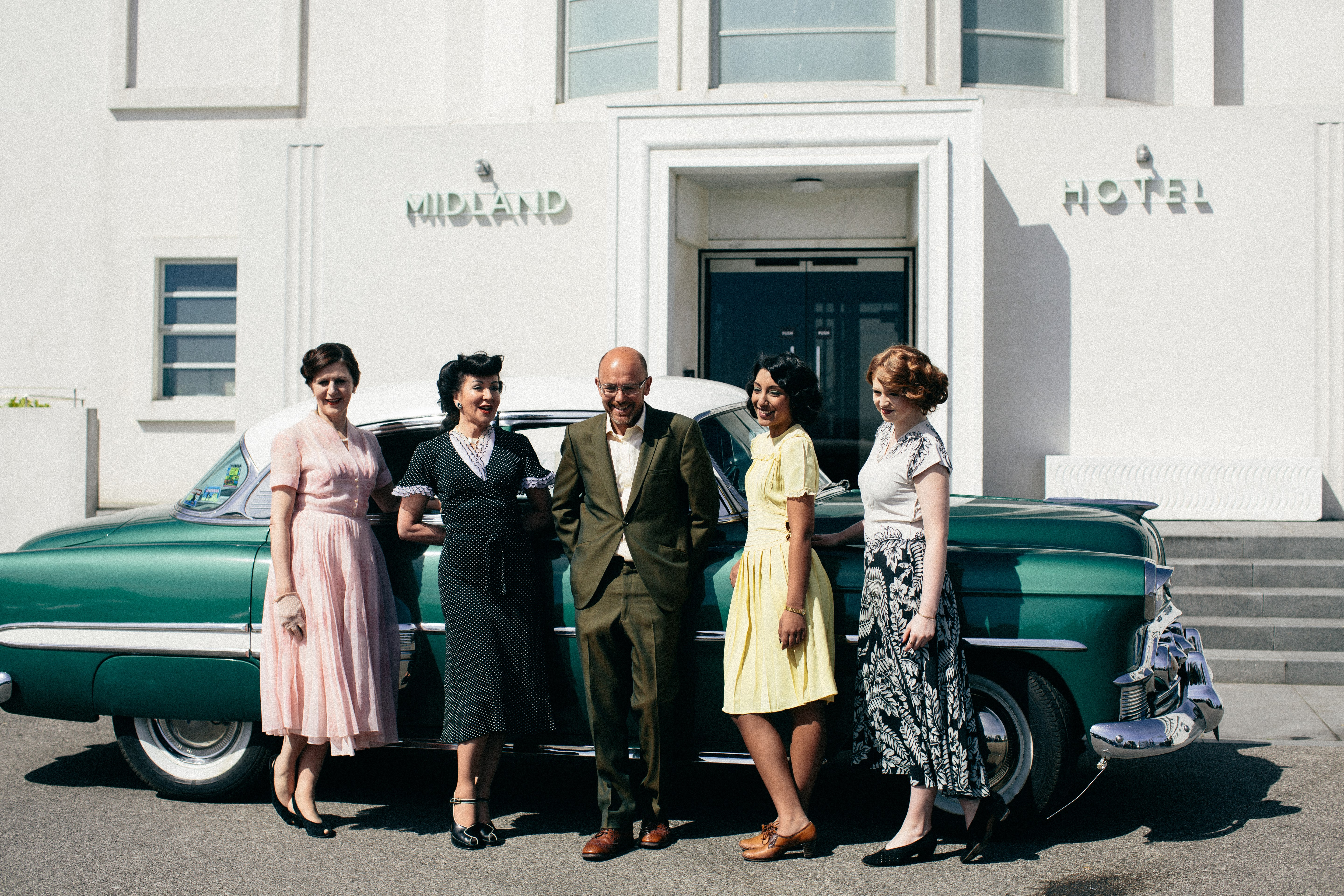 Vintage by the sea at the Midland Hotel, Morecambe