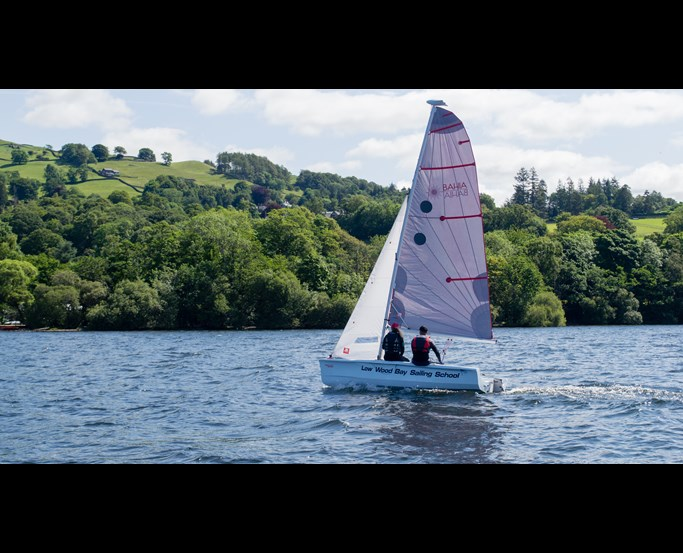Learn how to sail with Low Wood Bay Watersports