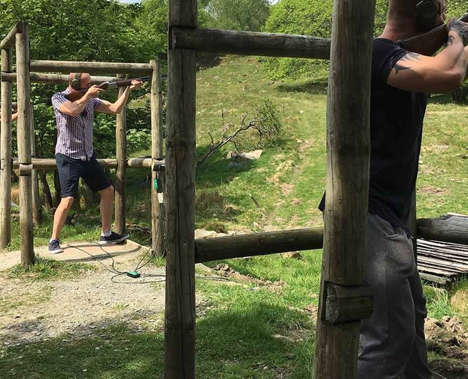 Clay Pigeon Shooting at The Wild Boar
