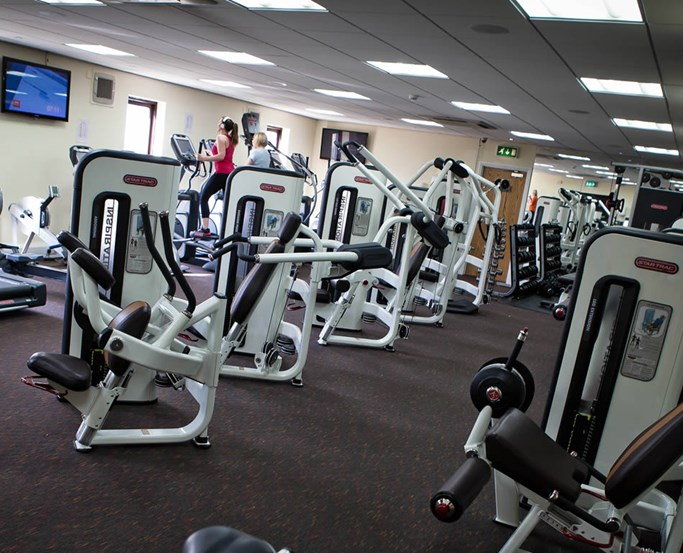 Gym at Sandpiper Club, Lancaster House hotel