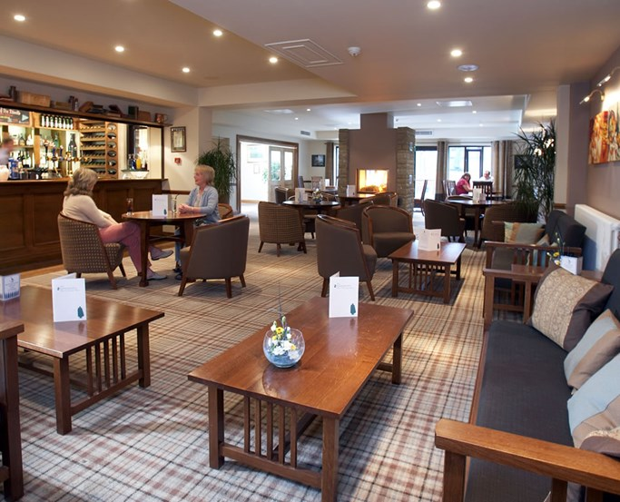 The Sandeman's Bar at Lancaster House Hotel