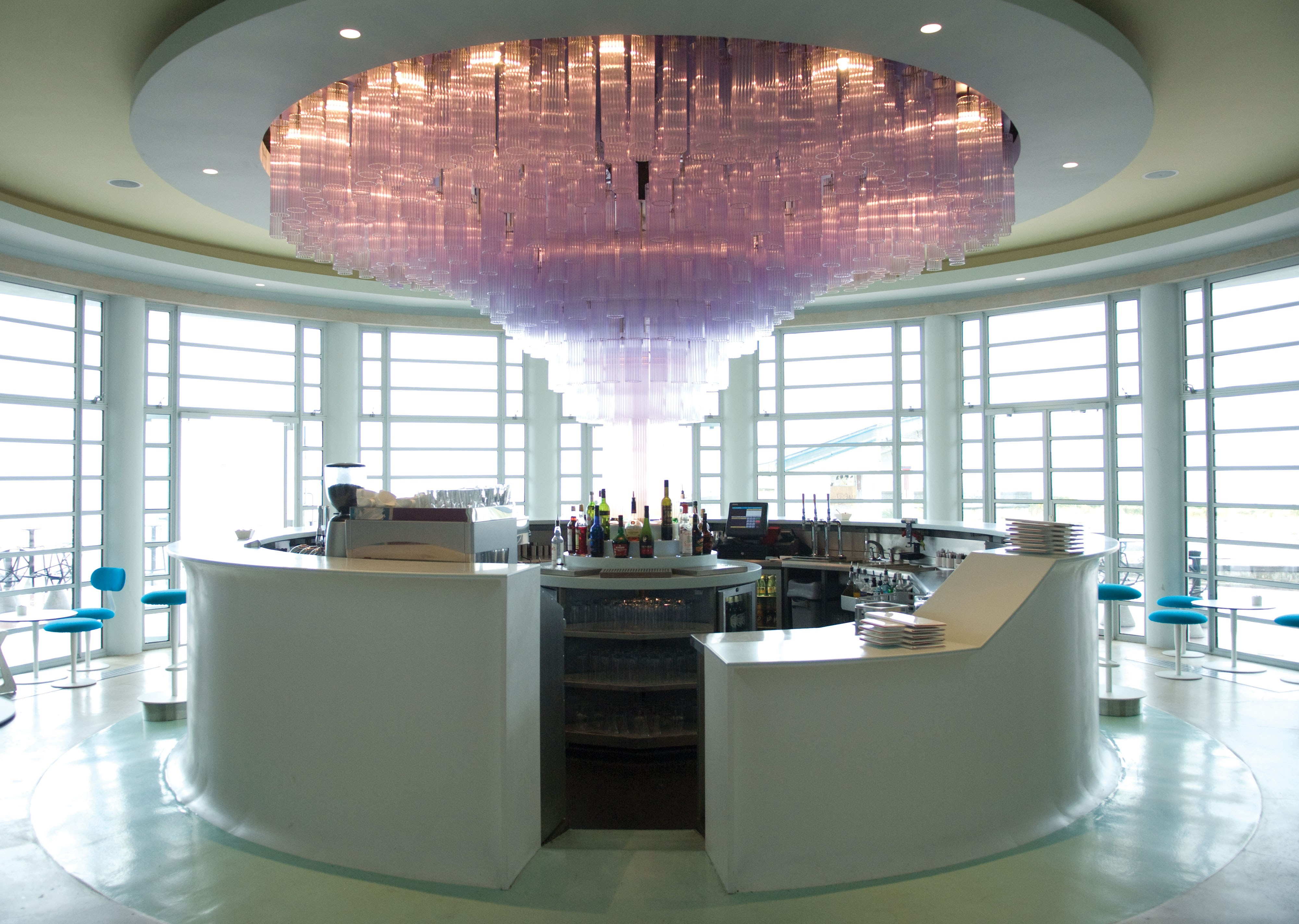 The Rotunda Bar at The Midland, Morecambe