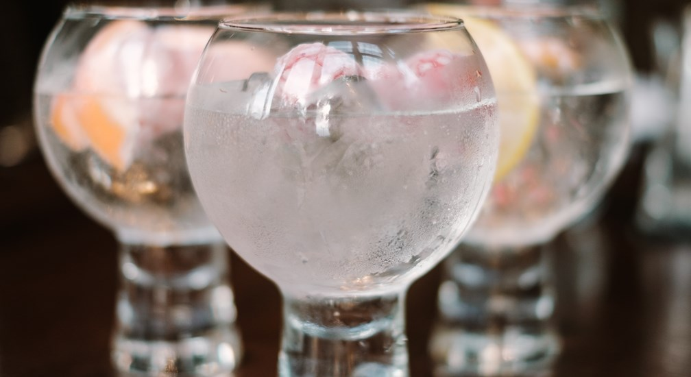 Trio of Gin & Tonics at the Waterhead Hotel