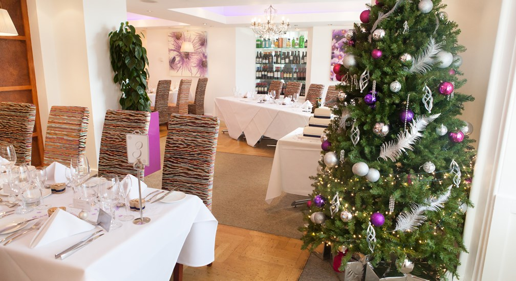 Christmas in the Waterhead Hotels restaurant
