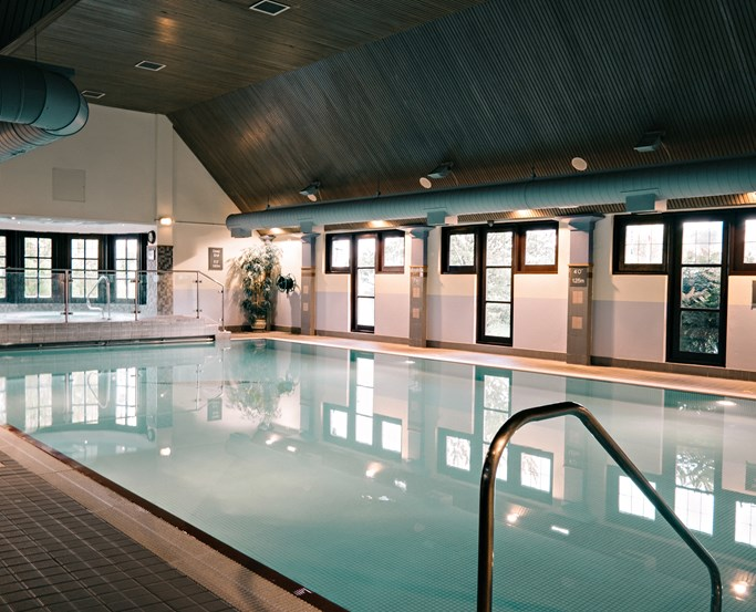 The swimming pool at Sandpiper Club, Lancaster House