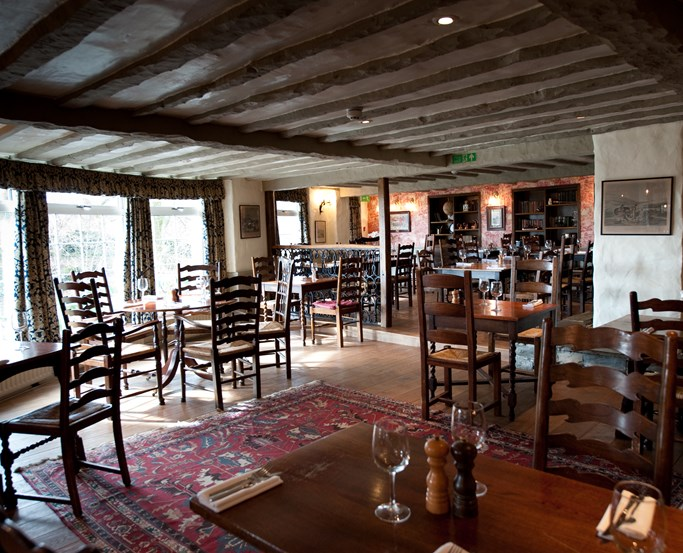 The Grill and Smokehouse restaurant at The Wild Boar, near Windermere