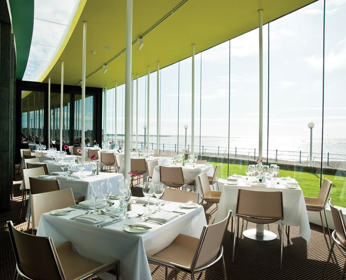 The Sun Terrace Restaurant at The Midland, Morecambe
