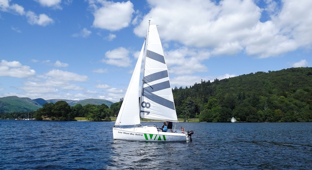 Sailing on Lake Windermere