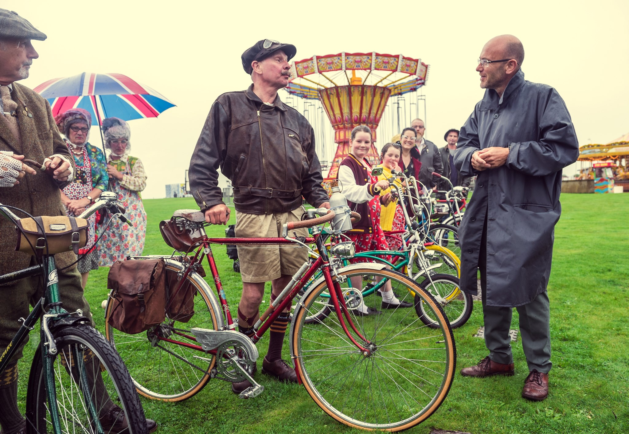 The vintage by the sea festival at The Midland, Morecambe
