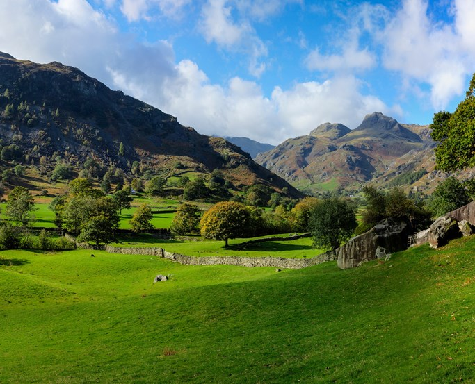 View down Langdale