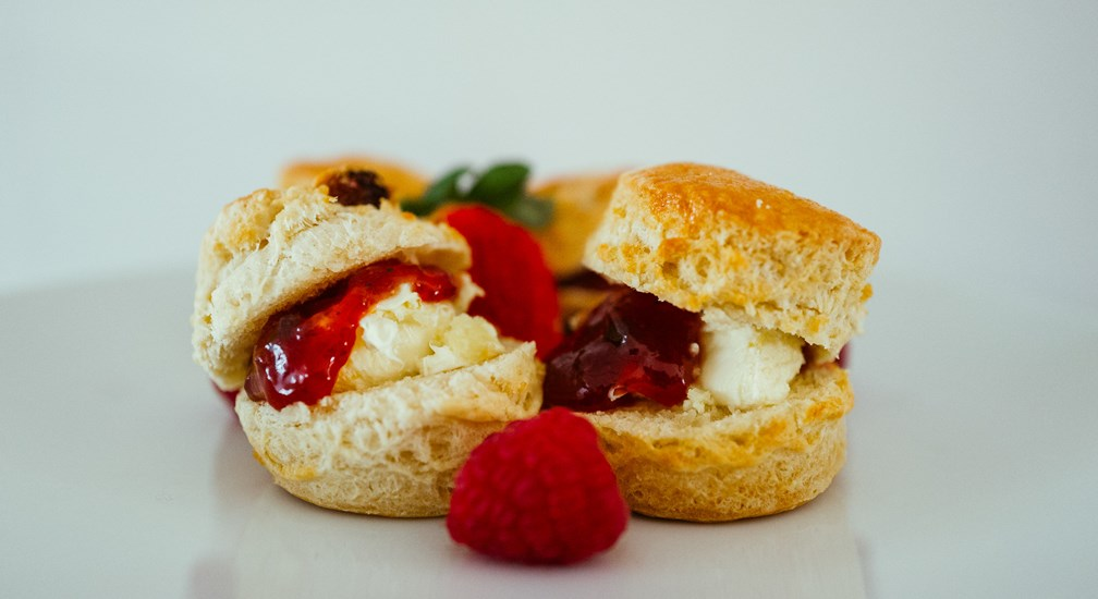 Scones with Cream and Jam from The Afternoon Tea menu