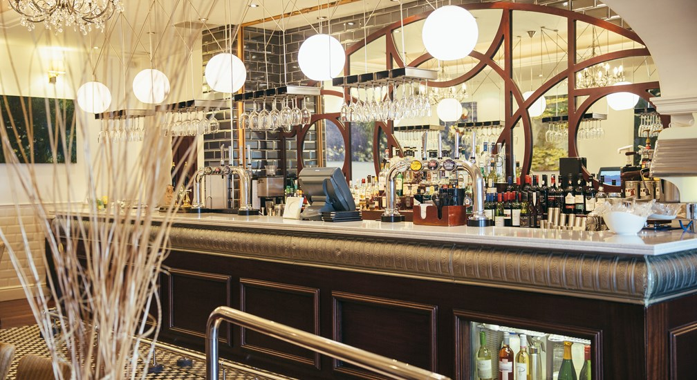 The Club Bar in the Langdale Lounge