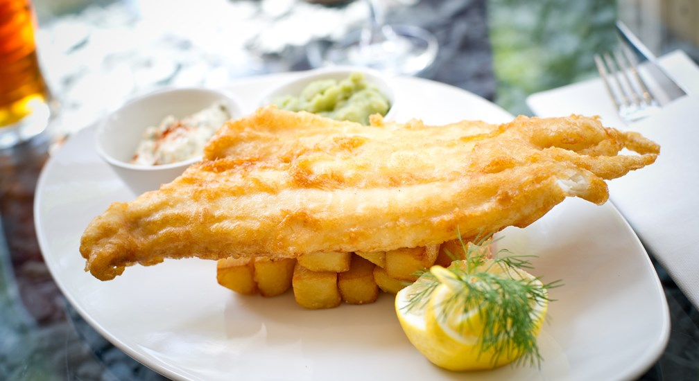The Bar & Grill menu - Fish and Chips