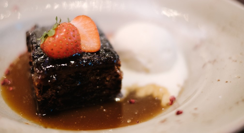 The Bar & Grill menu - Sticky Toffee Pudding