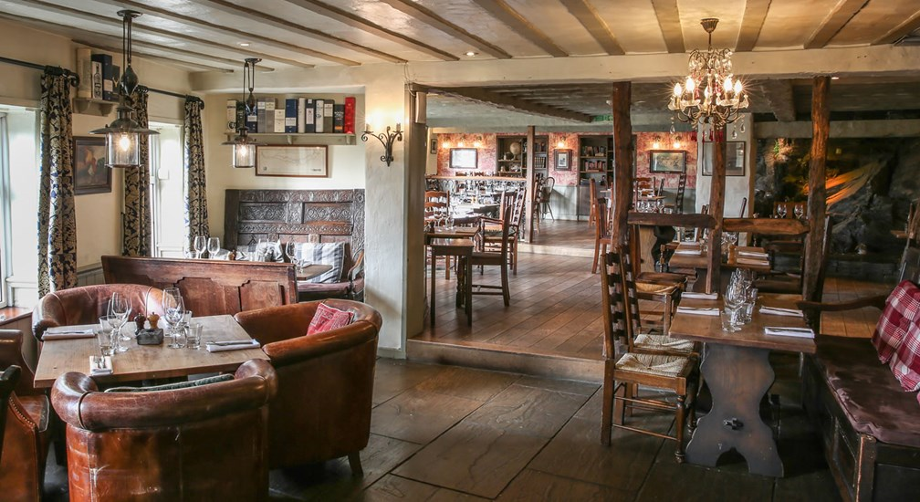 The Grill & Smokehouse Restaurant at The Wild Boar, nr Windermere