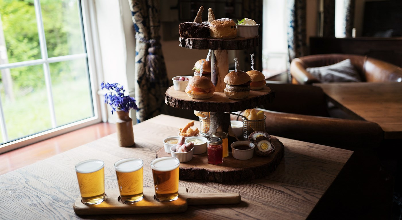 Afternoon Tea - The Wild Boar, nr Windermere