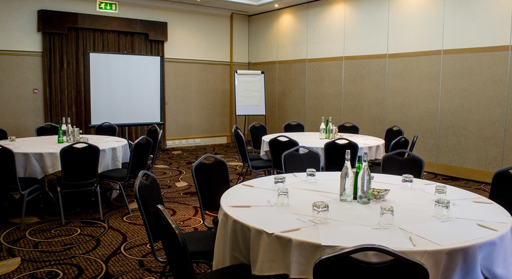 Banquet style table layout in the Ullswater Conference Room