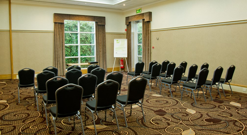 Theatre style seating in the Wastwater Conference Room at Low Wood Bay Resort & Spa