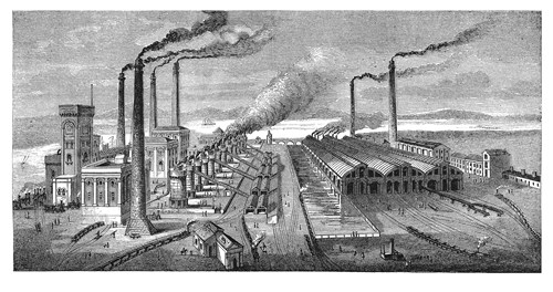 Industrial revolution factories