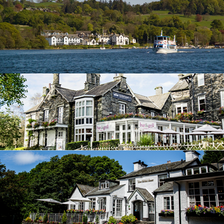 Lake District Hotels Collage