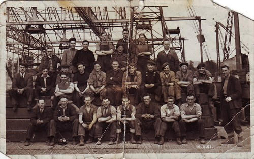 The Flying Boat factory workers