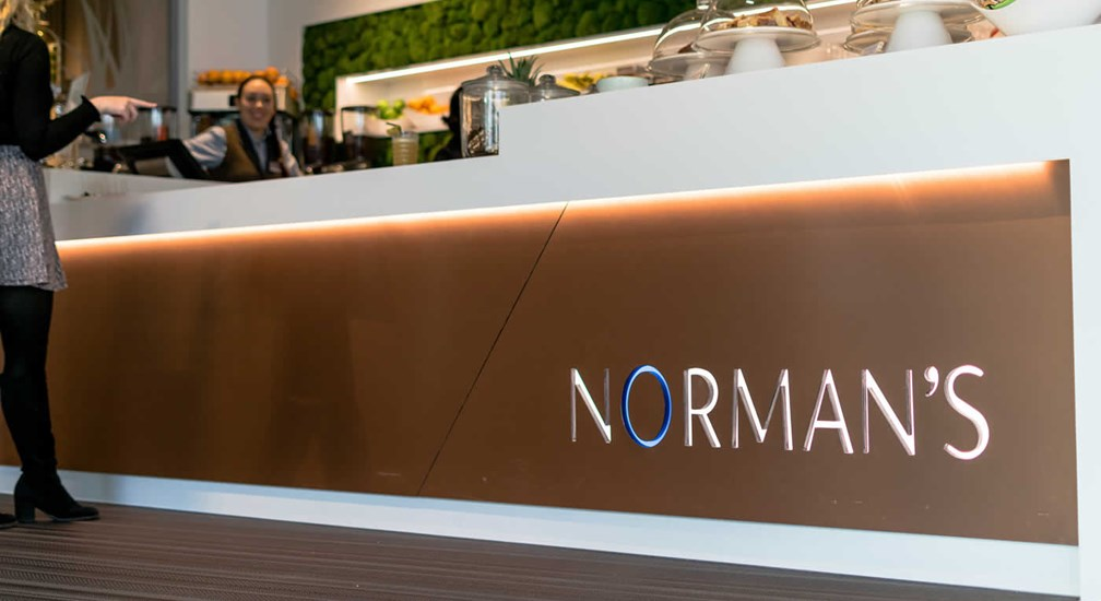 Normans Signage