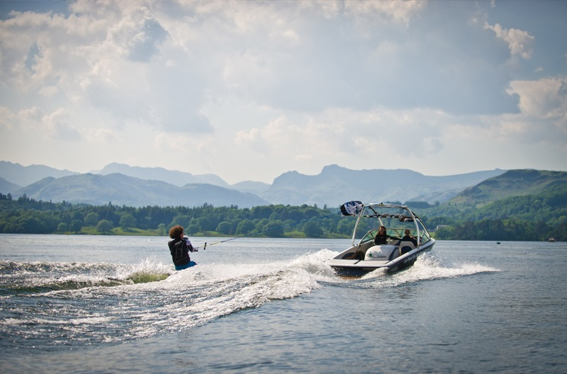 Wakeboarding at Low Wood Bay