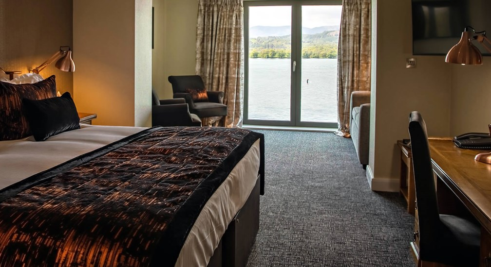 Lime Lake View Room at Low Wood Bay