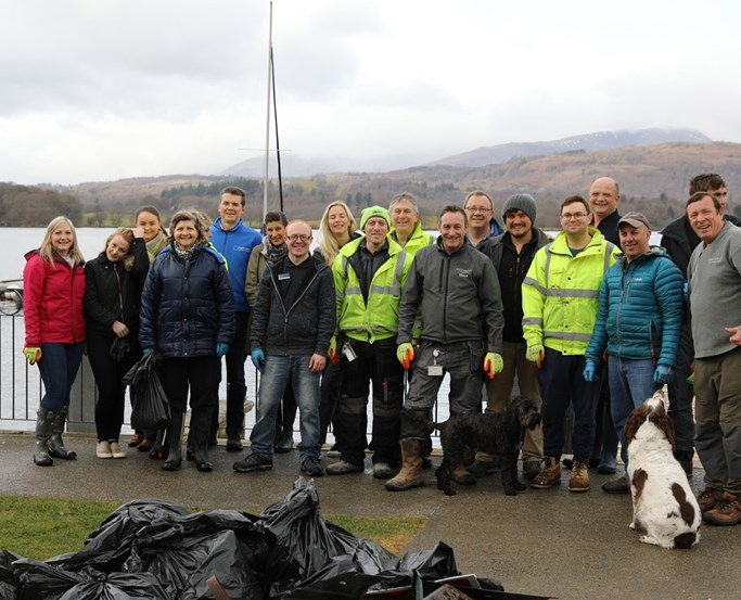 Low Wood Bay Beach Clean