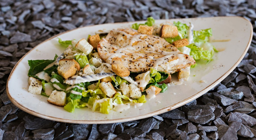 Classic Chicken Caesar Salad, Waterhead Bar & Grill