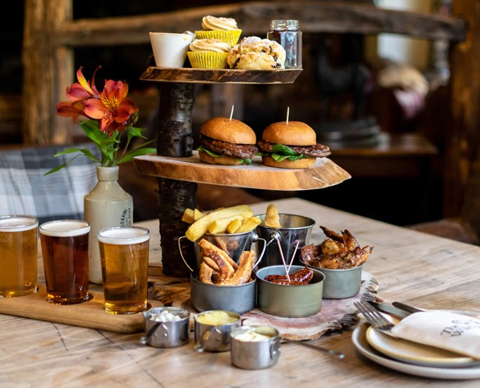 Alternative Afternoon Tea at The Wild Boar
