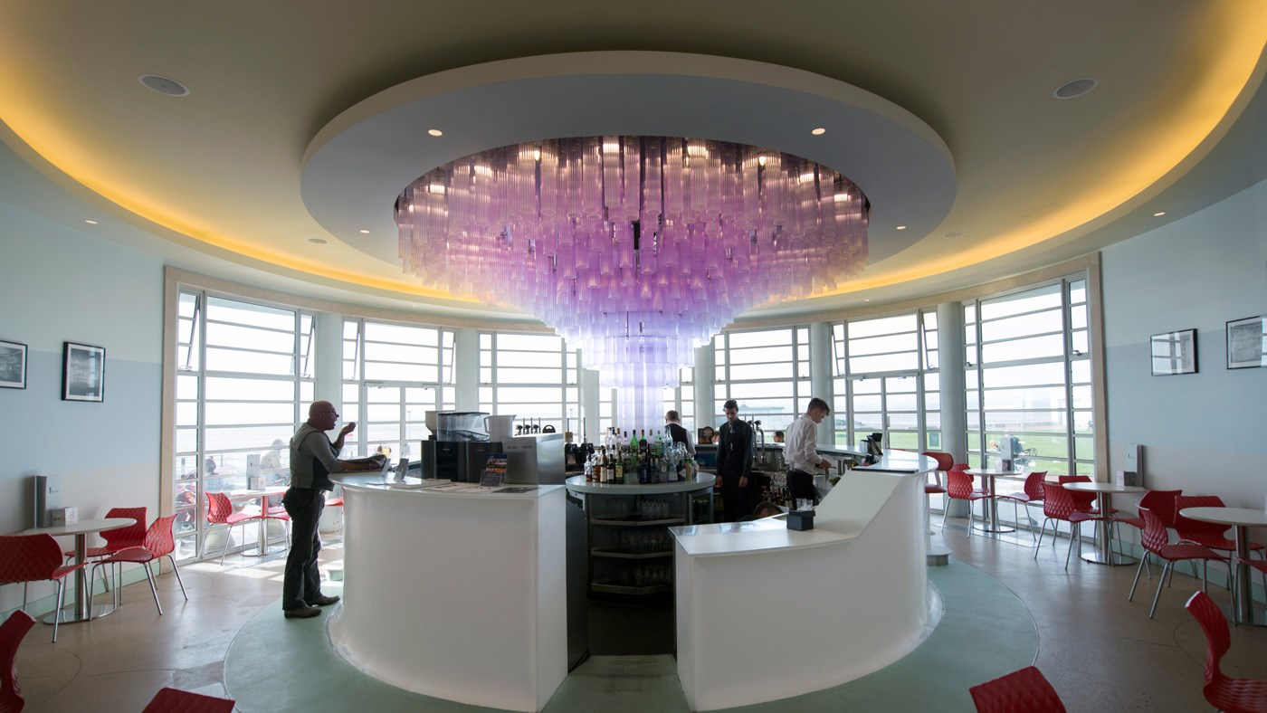 The Rotunda Bar Midland Hotel Morecambe