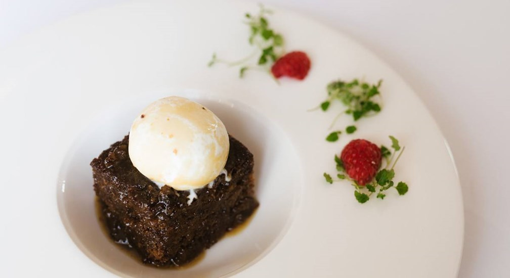 Low Wood Bay Sticky Toffee Pudding, The Windermere, Low Wood Bay Resort & Spa