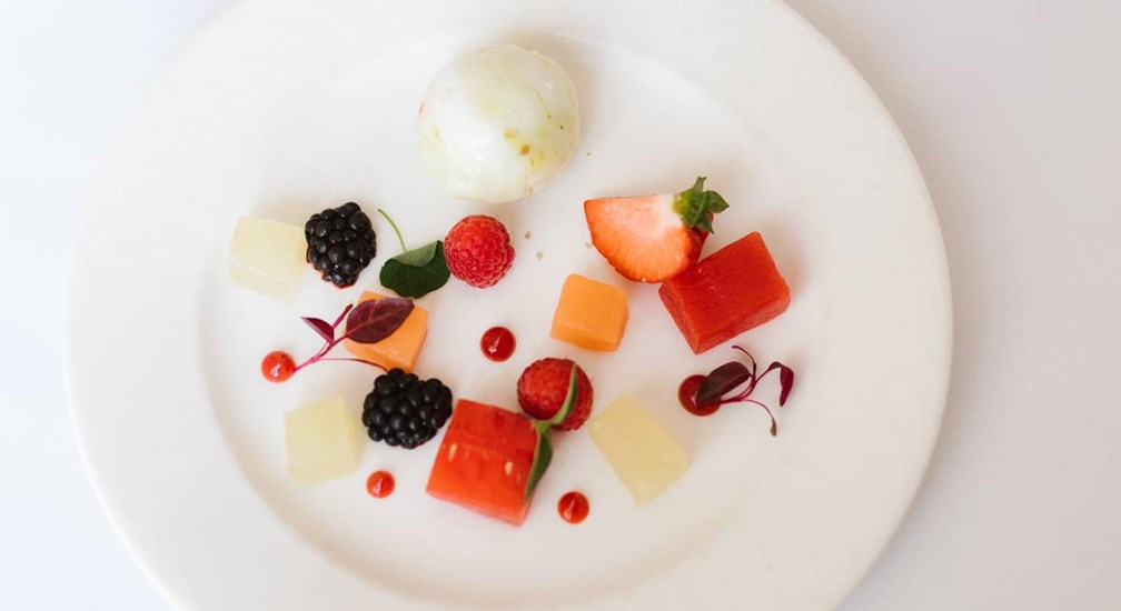 Elderflower Pressed Melon, The Windermere, Low Wood Bay Resort & Spa
