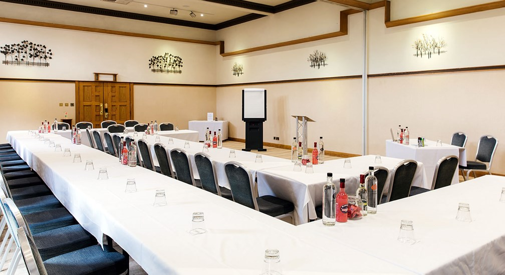 The Dalton Suite Conference Room in u shape table layout