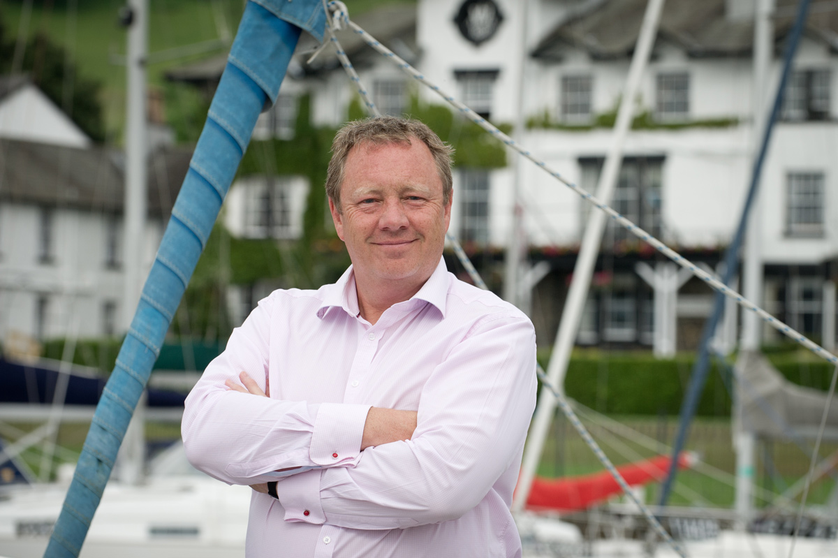 Simon Berry Managing Director of English Lakes Hotels Resorts & Venues - Jobs in Cumbria and Lancashire at English Lakes