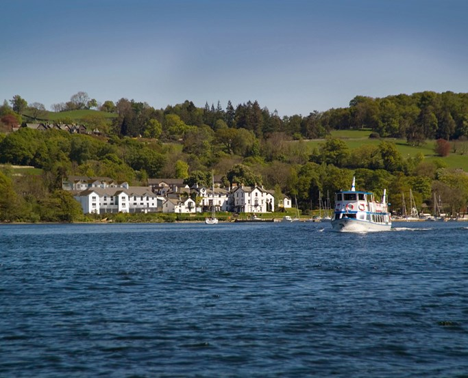 Low Wood Bay Resort & Spa on the shores of Lake Windermere
