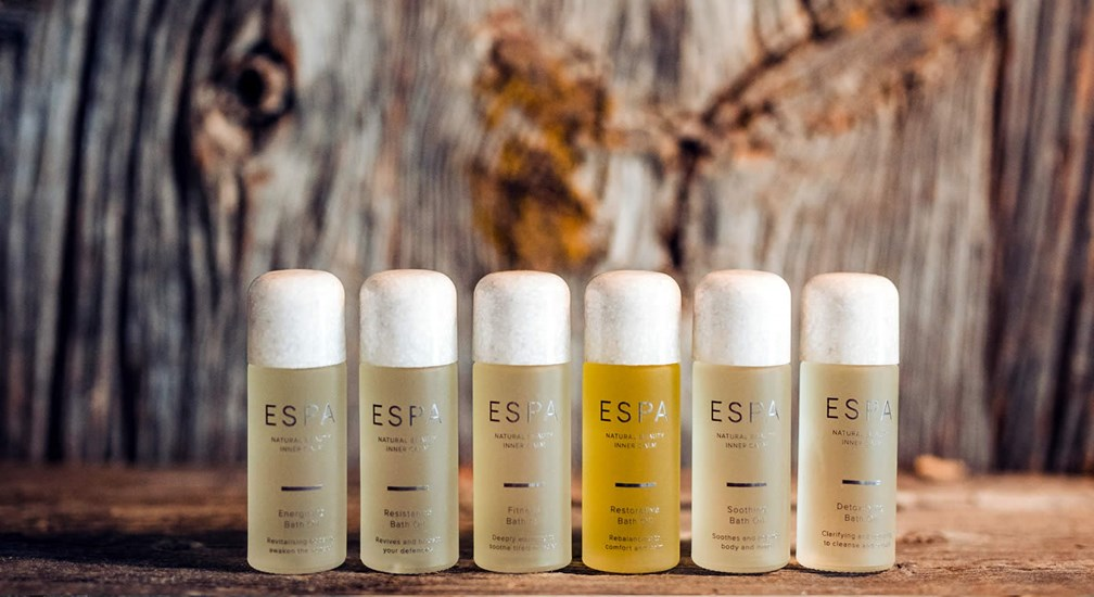 ESPA Products at The Spa at Low Wood Bay in the Lake District