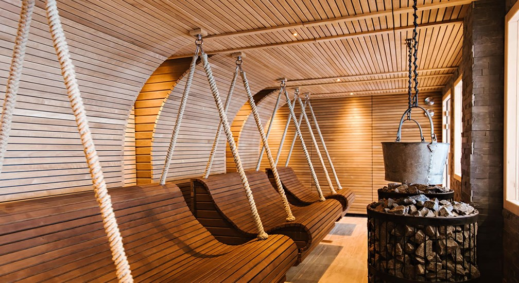 The Herbal Lounge in the Spa at Low Wood Bay