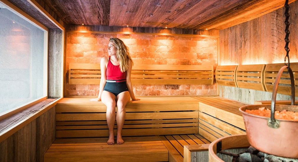The Salt Sauna in The Spa at Low Wood Bay