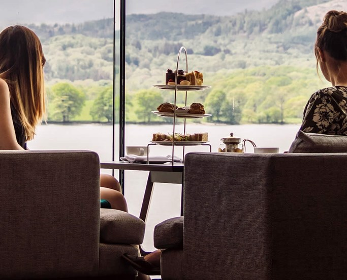 Afternoon Tea in the Atrium at Low Wood Bay Resort & Spa